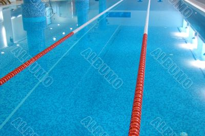 Swimming Pool with Lanes