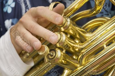 Music by the tuba