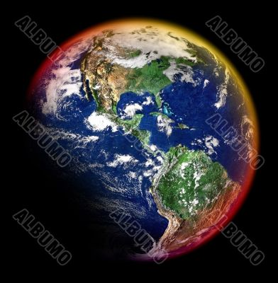 colorful earth