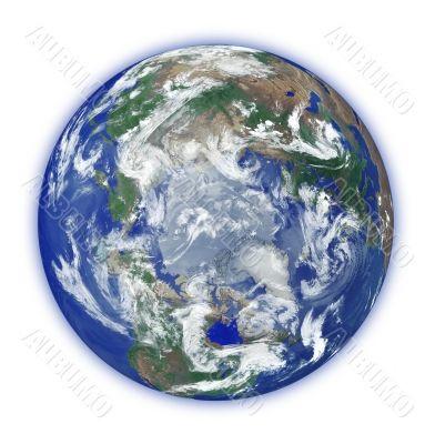 globe with small aura
