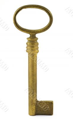 key in vertical position