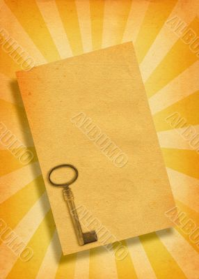 paper with key motive