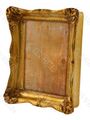 golden frame from perspective