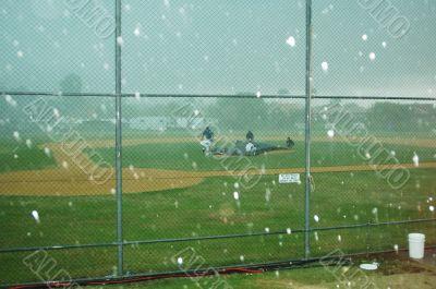 Hailing at Baseball
