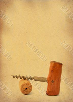 vintage corkscrew