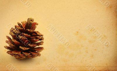 christmas decorative cone