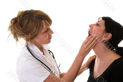 Mouth examination