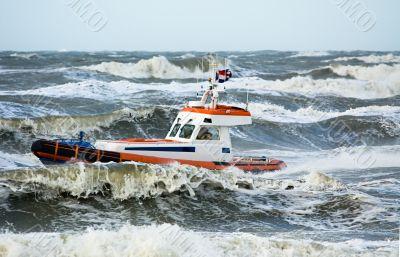 coast guard during storm
