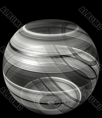 3d glistening illusion bowl