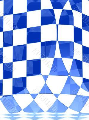 3d transparent illusion blocks