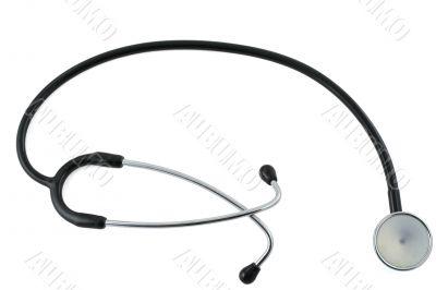 stethoscope isolated on white #2