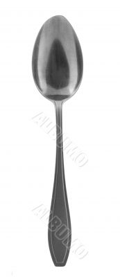 spoon on pure white background