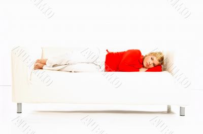 Women on couch