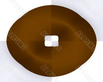 Checker board donut