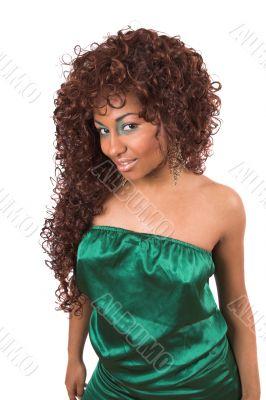 Green fashion queen