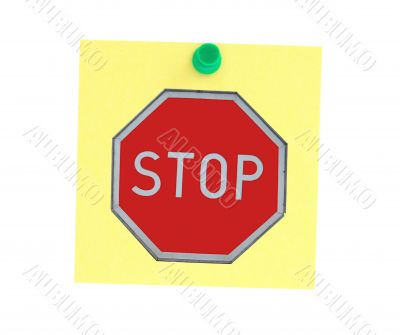stopping announcement
