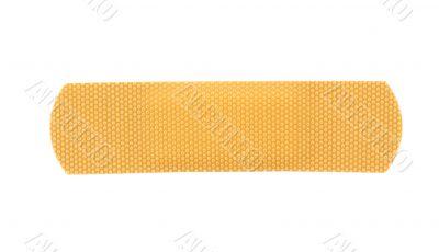 bandaid stripe on pure white background