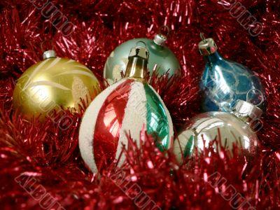 christmas - antique bulbs 2