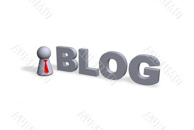 blog text in 3d