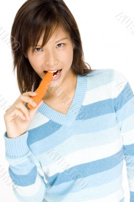 Biting Carrot