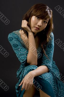 Seated Asian Girl