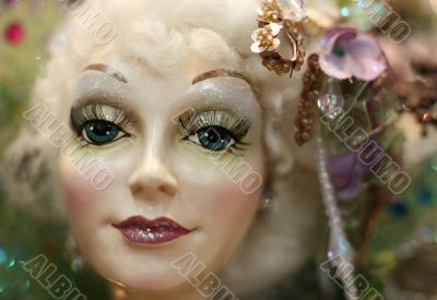 Portrait of a doll