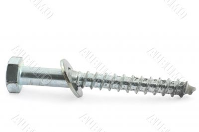 single screw on white