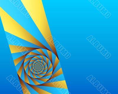 Angled swirl