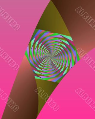 Kaleidoscope strip