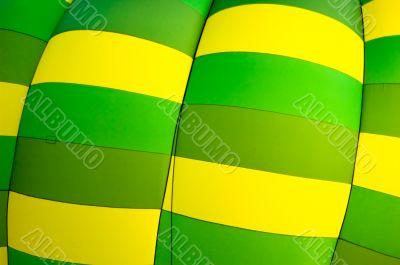 Yellow & Green Hot Air Balloon