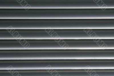 Horizontal Grey Lines - Venetian Blinds