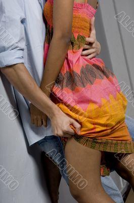 Grabbing Dress