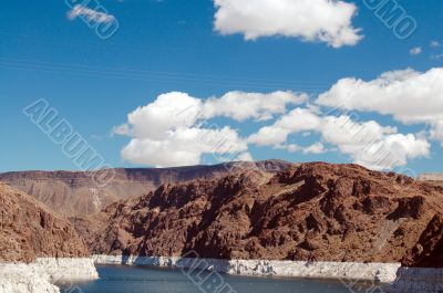 Clouds on Lake Mead
