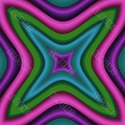 Tipsy neon star
