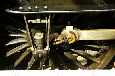Train Engine Wheel