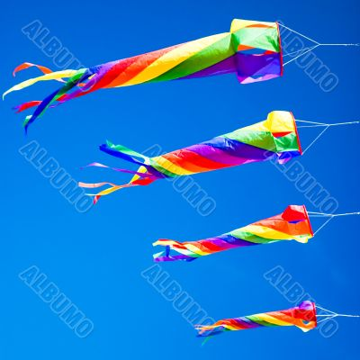 Dragon Kite Flying Formation