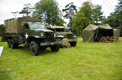 Army Truck and Jeep WWII