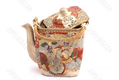 Ancient chinese teapot.