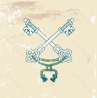 heraldic  keys