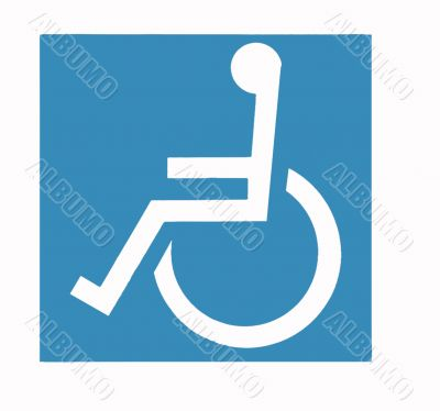 Wheel-Chair Sign