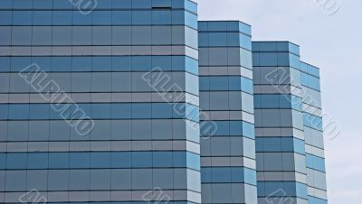 Blue and Grey Glass