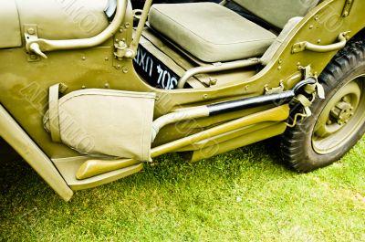 WW II Jeep - Transport Vehicle