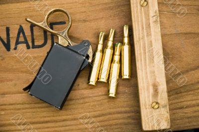 Bullets and Grenades - Ammo Box