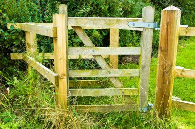 FIve Bar Footpath Gate
