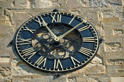 Traditional Outside Wall Clock