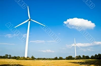 Environmental Electricity Generation Windmills