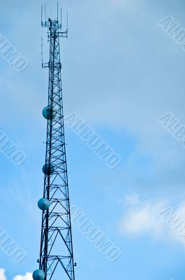 Communications Mast - Steel Tower