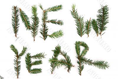 New Year decorating