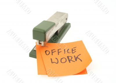 metaphor of office work