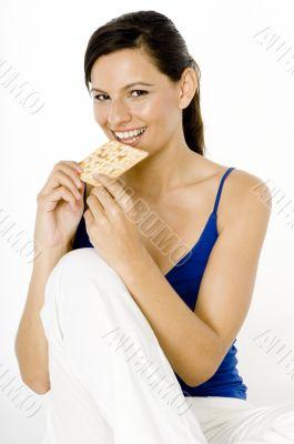 Eating Cracker